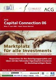 Marktplatz für alle Investments - Factbook