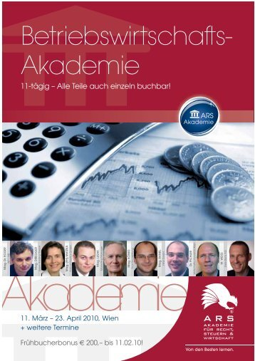 Betriebswirtschafts- Akademie - Factbook