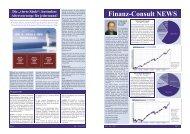 Finanz-Consult NEWS - Factbook