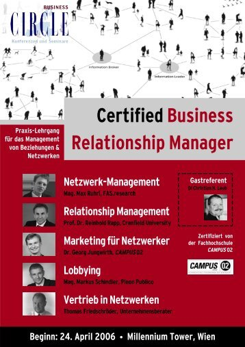 CertifiedBusiness Relationship Manager - Factbook