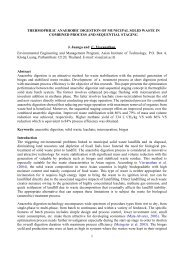 1 THERMOPHILIC ANAEROBIC DIGESTION OF MUNICIPAL SOLID ...