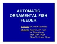 AUTOMATIC ORNAMENTAL FISH FEEDER - faculty.ait.ac.th