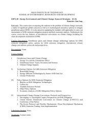 Material - faculty.ait.ac.th - Asian Institute of Technology