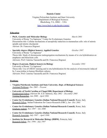 virginia tech career services resume cover letter exles career
