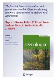 Brown et al. 2012 - Virginia Tech