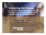 Plan - Georgia Tech Faculty Governance