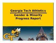Presentation - Georgia Tech Faculty Governance