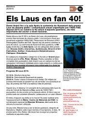 DP Premis Laus 2010 - FAD