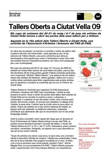 Tallers Oberts a Ciutat Vella 09 - FAD
