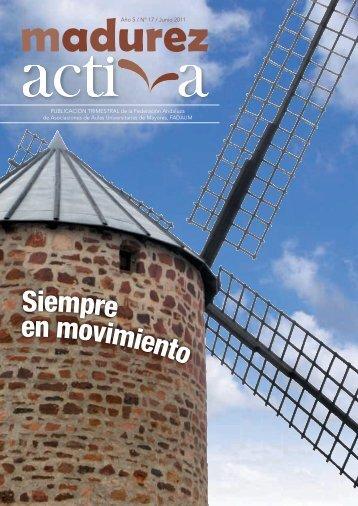 En el nº 17 de la revista Madurez Activa - Fadaum