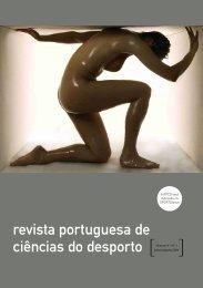 RPCD Vol. 4 Nr. 1 - Faculdade de Desporto da Universidade do Porto