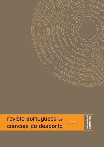 4. revista - Faculdade de Desporto da Universidade do Porto