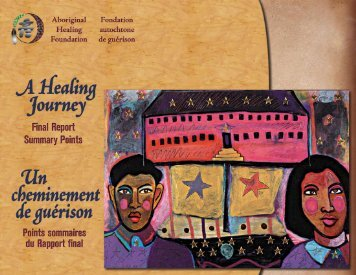 Points sommaires du Rapport final - Aboriginal Healing Foundation