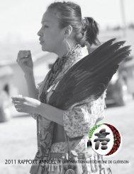Rapport Annuel 2011 - Fondation autochtone de guérison