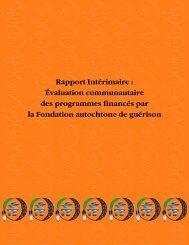 Guide d'évaluation communautaire des initiatives financées par la ...