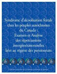 Syndrome d'alcoolisation foetale chez les peuples autochtones du ...
