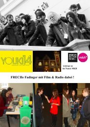 FRECHe Fadinger mit Film & Radio dabei ! - Fadingerschule