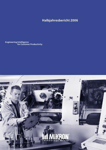 Halbjahresbericht 2006