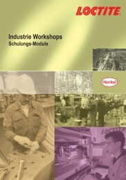 Loctite Industrie Workshop