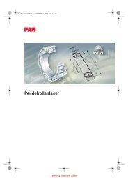 FAG Pendelrollenlager - Lenhart & Hasenöhrl GmbH