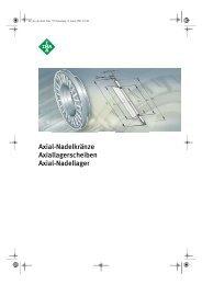 INA Axial-Nadellager - Lenhart & Hasenöhrl GmbH