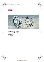 FAG Rillenkugellager - Lenhart & Hasenöhrl GmbH