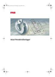 FAG Axial-Pendelrollenlager - Lenhart & Hasenöhrl GmbH