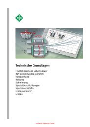 Technische Grundlagen Profilschienenfuehrungen - Lenhart ...