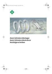 INA Axial-Zylinderrollenlager - Lenhart & Hasenöhrl GmbH