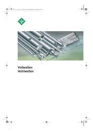 Vollwellen Hohlwellen - Lenhart & Hasenöhrl GmbH
