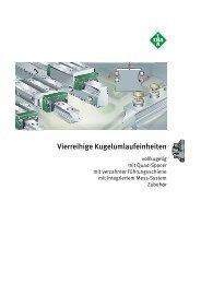 INA Kugelumlaufeinheit vierreihig - Lenhart & Hasenöhrl GmbH