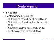 Renteregning - Høgskolen i Østfold