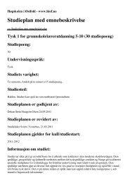 Studieåret 2011/12 - Søk - Høgskolen i Østfold