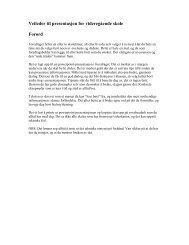 Veileder til presentasjon for videregående skole Forord - Fagforbundet