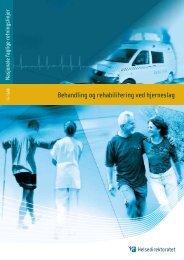 Behandling og rehabilitering ved hjerneslag - Fagforbundet