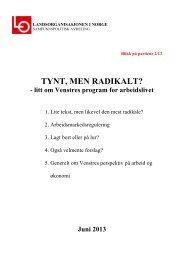 Nr. 2 - Venstre - Fagforbundet