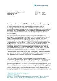 Helse- og omsorgsdepartementet Postboks 8011 ... - Fagforbundet