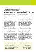 Dhal eller lapskaus? - Fagforbundet - Page 2