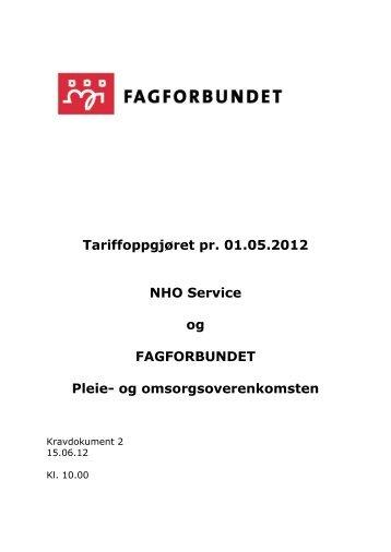 Fagforbundets kravdokument 2