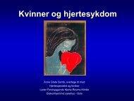 Kvinner og hjertesykdom - Fagforbundet