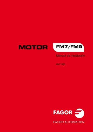 motor fm7/fm9 - Fagor Automation