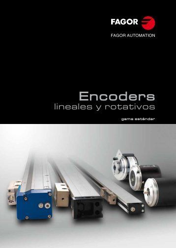 Catálogo e información técnica - Fagor Automation