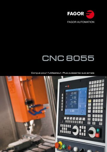 CNC 8055 - Fagor Automation
