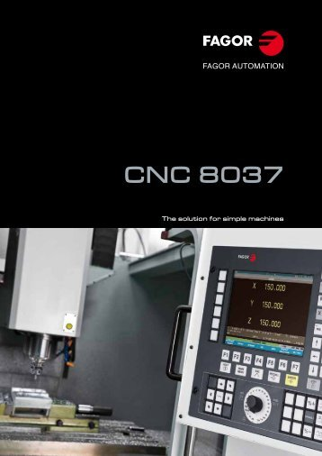CNC 8037 - Fagor Automation