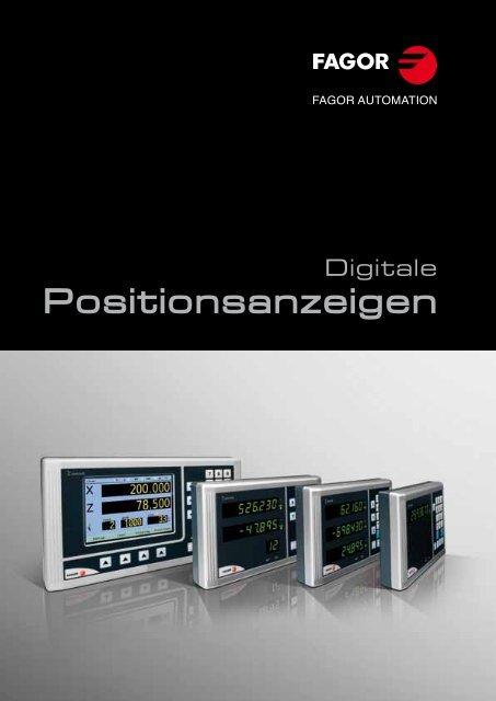 Kataloge - Fagor Automation