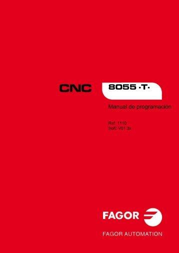 CNC 8055 - Manual de programación - Fagor Automation