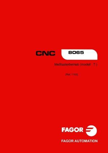 DE: man_8065t_prb.pdf - Fagor Automation