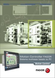IT: cat_motion_controller.pdf - Fagor Automation