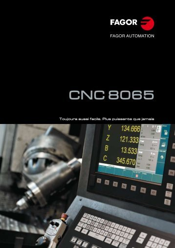 CNC 8065 - Fagor Automation