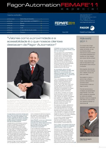 feimafe'11 - Fagor Automation